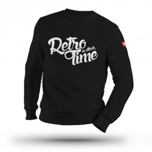 Clubbasse - Retro Time Bluza bez kaptura